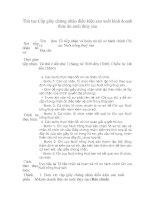 Tài liệu Thủ tục Cấp giấy chứng nhận điều kiện sản xuất kinh doanh docx