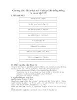 Tài liệu CHIẾN LƯỢC KINH DOANH_ CHƯƠNG 4: PHÂN TÍCH MÔI TRƯỜNG VÀ HỆ THỐNG THÔNG TIN QUẢN TRỊ ( MIS) doc