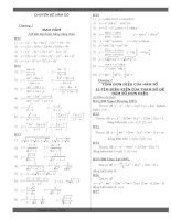 Tài liệu Hệ thống câu hỏi chuyên đề hàm số 12 pptx