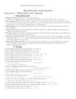Tài liệu Chuyên đề bồi dưỡng Toán 9
