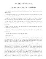 Tài liệu Cái Dũng Của Thánh Nhân pdf