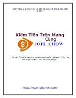 Make Money Online With John Chow dot Com