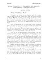 MỘT số ẢNH HƯỞNG của TRIẾT lý NGŨ GIỚI PHẬT GIÁO TRONG đời SỐNG văn HOÁ xã hội HUẾ