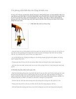 Tài liệu Các phong cách lãnh đạo tác động tới tình cảm ppt