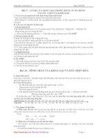 Tài liệu Tổng hợp kiến thức cơ bản hóa 12 docx