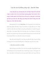 Tài liệu Lợi ích của hệ thống công việc - Just In Time ppt
