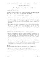 BẢN CHẤT VÀ PHƯƠNG PHÁP CỦA KINH TẾ HỌC