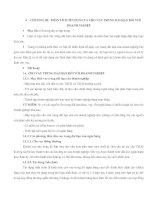 Tài liệu CHƯƠNG III: PHÂN TÍCH TÍN DỤNG VÀ CHO VAY TRUNG DÀI HẠN ĐỐI VỚI DOANH NGHIỆP doc