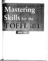 Tài liệu Mastering skills for the toefl ibt advanced part 71 docx