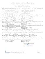Tài liệu Bài 4 : Dãy điện hóa của kim loại pptx