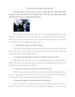 Tài liệu 10 Câu hỏi cho một công việc mới pptx