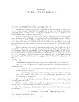 Tài liệu Chương 10: VẬT LIỆU HỮU CƠ POLYME ppt