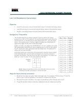 Tài liệu Lab 1.2.8 Hexadecimal Conversions docx