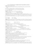 Tài liệu 1000 câu vật lý 12 nâng cao pptx