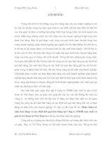 LUẬN VĂN HOÀN THIỆN KẾ TOÁN BÁN HÀNG VÀ XÁC ĐỊNH KẾT QUẢ BÁN HÀNG