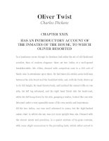 Tài liệu LUYỆN ĐỌC TIẾNG ANH QUA TÁC PHẨM VĂN HỌC-Oliver Twist -Charles Dickens -CHAPTER 29 ppt