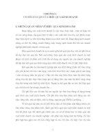MỘT số GIẢI PHÁP NÂNG CAO HIỆU QUẢ KINH DOANH ở CTY TNHH MOTOR n a VIỆT NAM