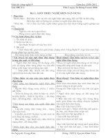 Bài soạn Giáo án CN 9 theo Chuẩn KTKN