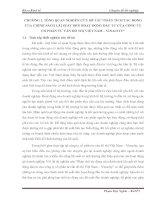 134 PHÂN TÍCH tác ĐỘNG của CHÍNH SÁCH lãi SUẤT đến HOẠT ĐỘNG đầu tư của CÔNG TY cổ PHẦN tư vấn đô THỊ VIỆT NAM – VINACITY