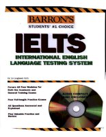 Tài liệu How to prepare for the ielts listening part 1 pdf