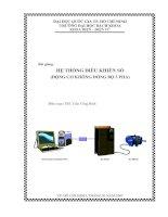 Tài liệu Hệ thống điều khiển số (động cơ không đồng bộ ba pha) pptx