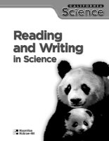 Reading and writing in science V1