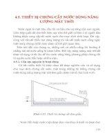 Tài liệu Thiết bị trưng cất nước dùng năng lương mặt trời pdf
