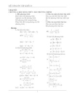Tài liệu Bất đẳng thức - bất phương trình doc