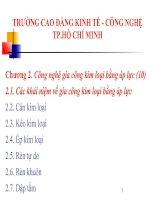 Tài liệu Chương 2. Công nghệ gia công kim loại bằng áp lực (10) docx