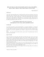 Tài liệu Một kỹ thuật giúp tránh biến chứng hai chi không bằng nhau trong thay khớp háng toàn phần pdf
