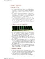 Tài liệu Chương 5 - Bộ nhớ RAM docx