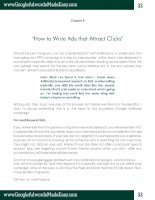 Tài liệu Google Adwords-Chapter 4