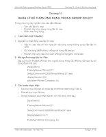 Tài liệu Giáo trình Quản trị mạng Windows Server 2003 (Chương 10) ppt