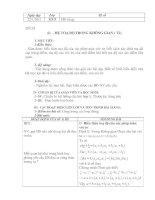 Bài soạn Bài 1 ( Tiết 2) HH12 CB chương III