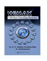Tài liệu Wimax - A Wireless Technology Revolution P1 pdf