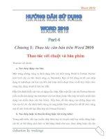Tài liệu Hướng dẫn sử dụng word 2010 part 4 pptx