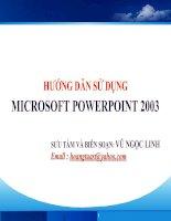 Huong dan su dung PowerPoint 2003 (full).ppt