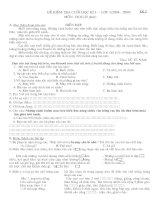 4Đề KT đọc L3(rất hay) - THQT Thái Bình