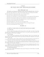 Bài giảng kế toán thuế   chương 4 kế TOÁN THUẾ THU NHẬP DOANH NGHIỆP mục TIÊU