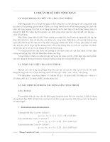 Tính toán nội lực bằng phương pháp khung tương đương