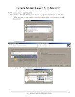 Hướng dẫn bảo mật win2003 phần 4  SSL IPSec