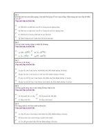 DỀ THI THỬ SỐ 6 LỚP 11.HKI