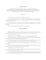 nghị định bổ sung các tổ chức cho thuê tài chính