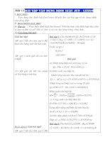 Tiết 17: Bài tập vận dụng Định luật Jun-Lenxơ