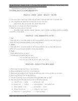 Ôn tập hóa học lớp 8 kì II