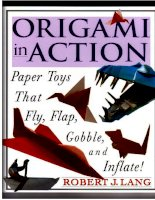 Origami in action paper toys that fly, flap, gobble, and inflate