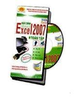 TỰ học EXCEL 2007   TUYỆT CHIÊU TRONG EXCEL2007