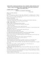 GIÁO TRÌNH NGỮ VĂN 9 THI VÀO LỚP 10