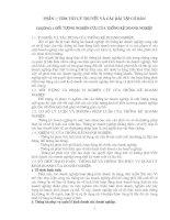 Chương 1. Đối tượng nghiên cứu của thống kê doanh nghiệp