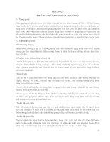 CHƯƠNG 7 - PHƯƠNG PHÁP PHÂN TÍCH CHUẨN độ